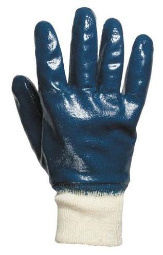 Перчатки с нитриловым обливом манжета